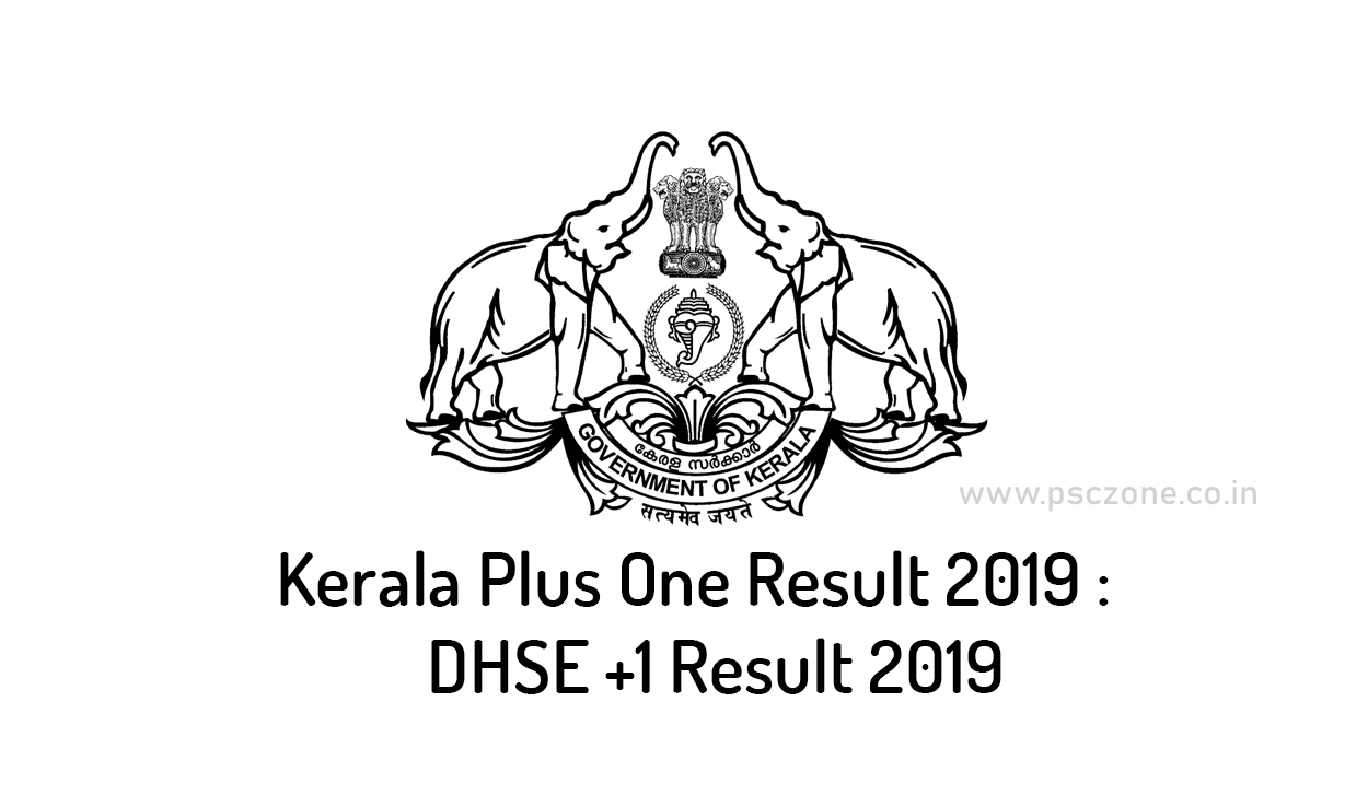 Photo of Kerala Plus One Result 2019 : DHSE +1 Result 2019